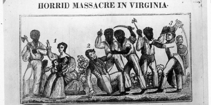1831: Slaves rebelling in Virginia during the revolt led by Nat Turner. (Photo by MPI/Getty Images)
