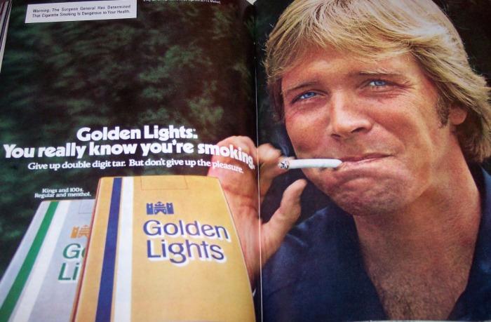cigarette ad