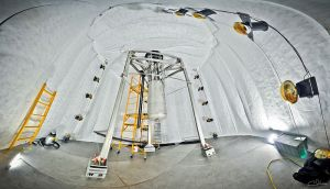 Large_Underground_Xenon_detector_inside_watertank