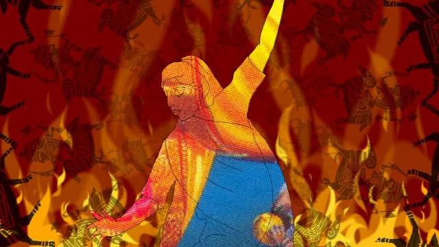 On self-immolation.