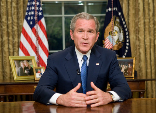 On the Bush years, from the perspective of the 45th.