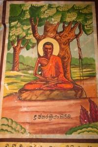 Thangka_depicting_Buddha_under_the_Bodhi_Tree._Weherahena_Temple,_Matara,_Southern_Province,_Sri_Lanka