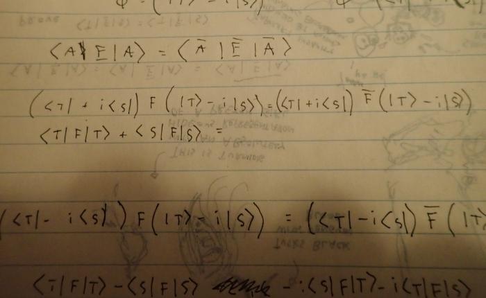 On translation and quantummechanics.