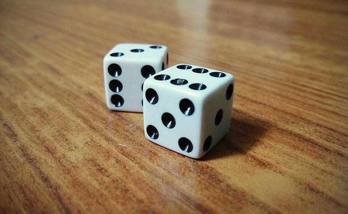 On gambling.