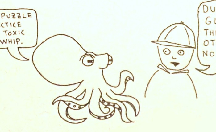 On octopuses and family gatherings.